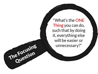 The One Thing_focusing question