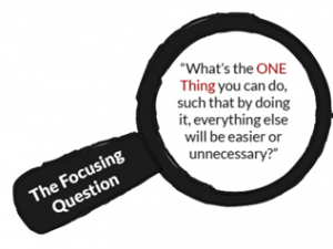 The One Thing Book Summary_focusing question1