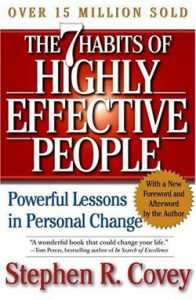 The 7 Habits  of Highly Effective People_book
