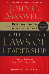 The 21 Irrefutable Laws of Leadership_book1
