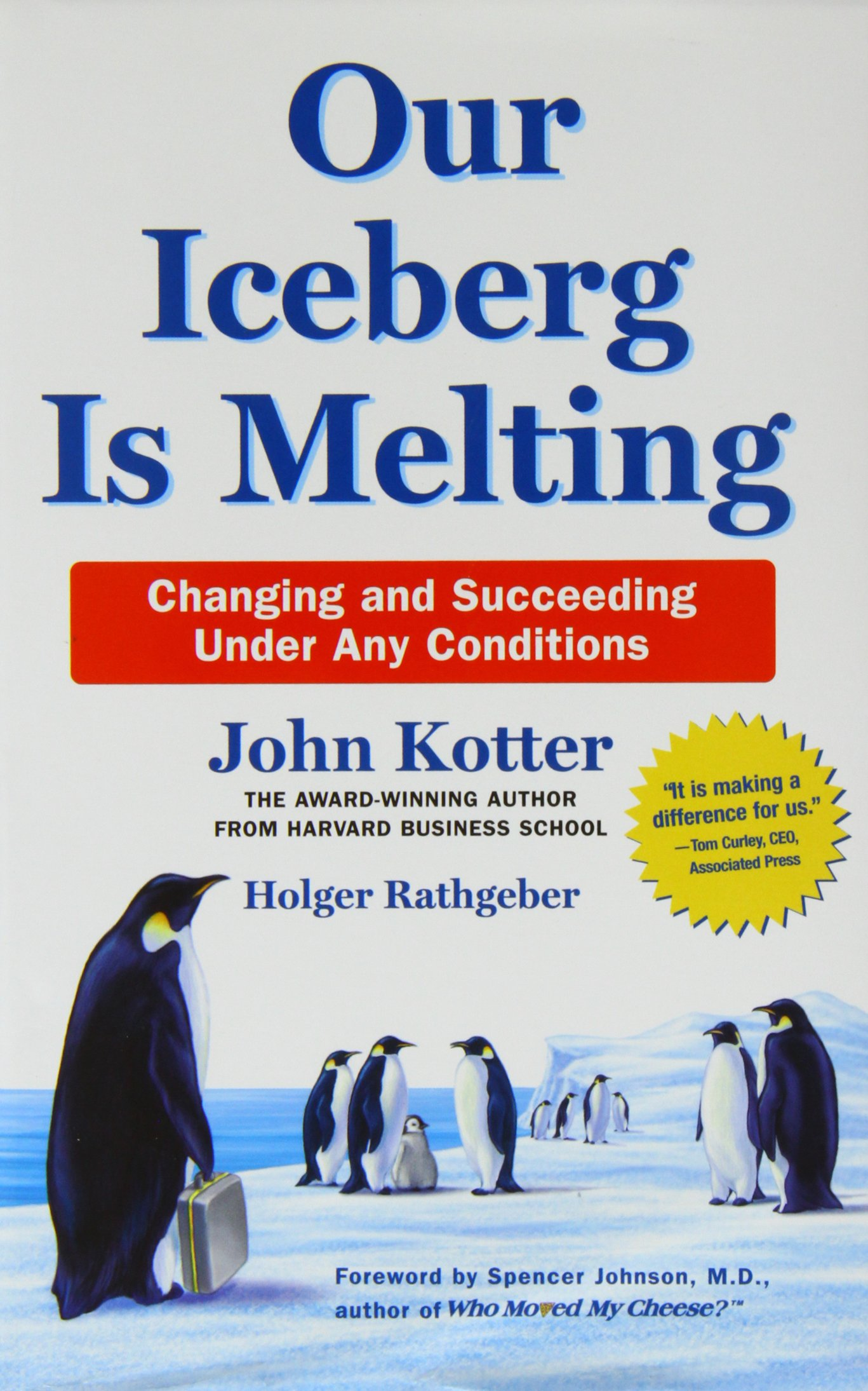 summary our iceberg is melting by john kotter Find helpful customer reviews and review ratings for our iceberg is melting at amazoncom  great summary of kotter's book  i was exposed to john kotter.