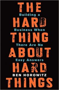 The Hard Thing about Hard Things_Book