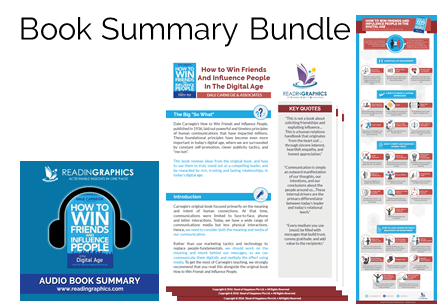 How to Win Friends and Influence People in the Digital Age summary_bundle