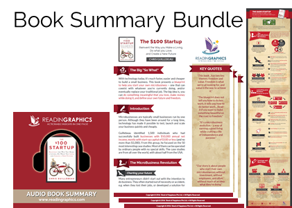 The $100 Startup summary_book summary bundle