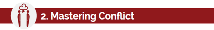 "overcoming conflicts with courage Interpersonal conflict and effective communication  conflicts with a loved one or  ""i genuinely respect you for having the courage to bring this."