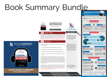 Leadership and Self-Deception summary_book summary bundle