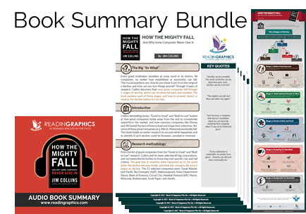 Best Business Strategy Books_How the Mighty Fall summary
