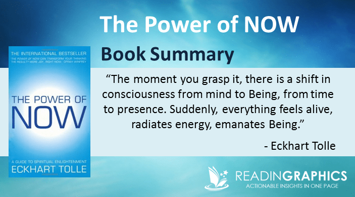 Book Summary - The Power of Now: A Guide to Spiritual