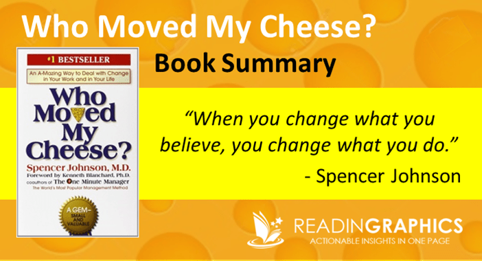 who moved my cheese book summary The who moved my cheese pdf is a free download of the book of the same name, a business parable written by dr spencer johnson the book became an international bestseller about managing.