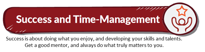 Like a Virgin Book Summary_title_Success-time management