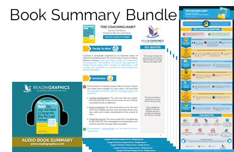 The Coaching Habit summary_book summary bundle