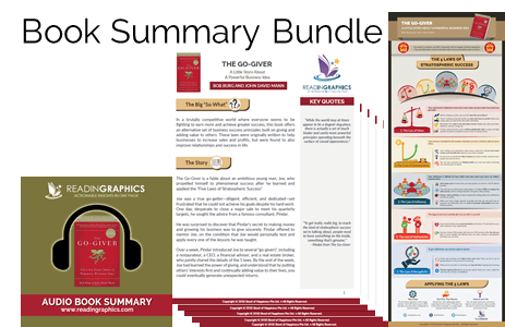 The Go-Giver summary_book summary bundle