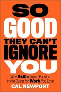 So Good They Can't Ignore You_Book