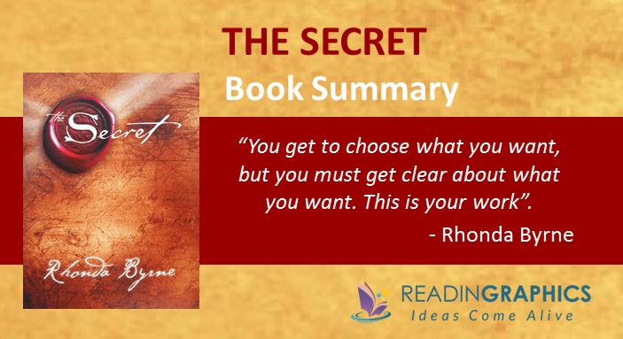 Book Summary – The Secret by Rhonda Byrne