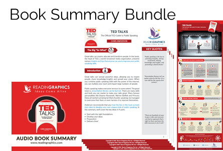 Book Summary - TED Talks: The Official TED Guide to Public