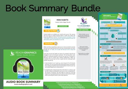 Mini Habits summary_Full Summary Bundle