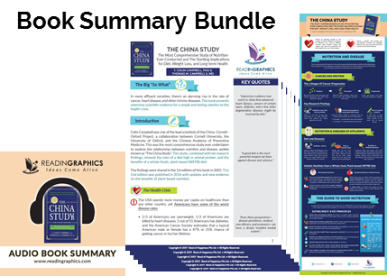 The China Study summary_book summary bundle