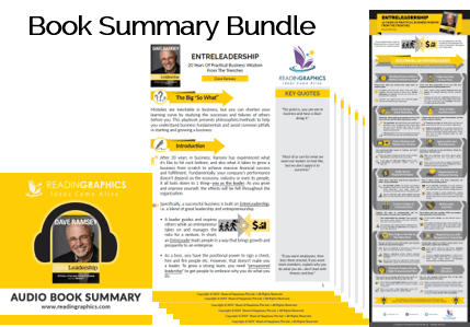 Entreleadership summary_Book summary bundle