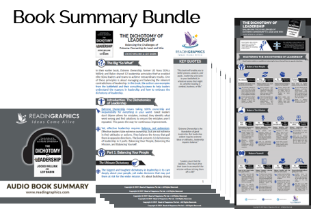 The Dichotomy of Leadership summary_book summary bundle