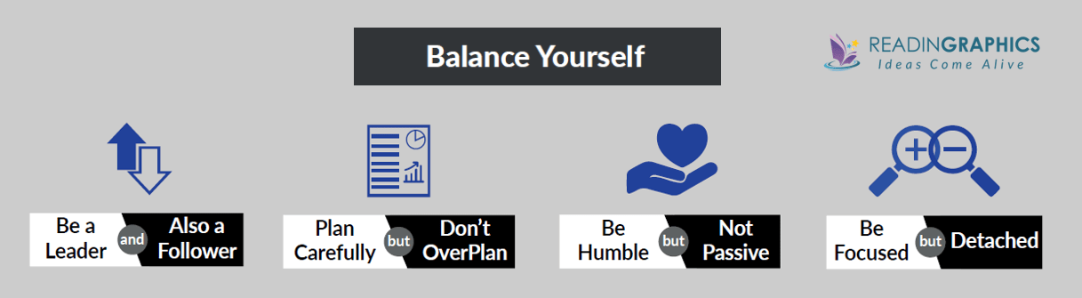 The Dichotomy of Leadership summary_balancing yourself