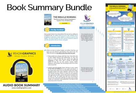The Miracle Morning summary_Book summary bundle
