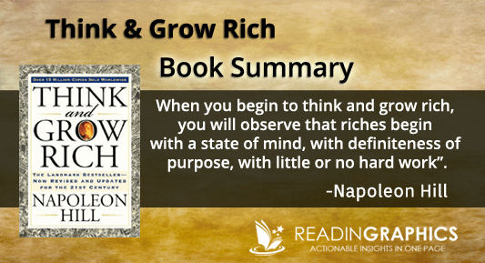 Think & Grow Rich Book Summary by Napolen Hill