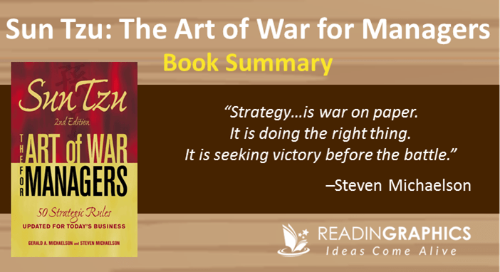 Book Summary Sun Tzu The Art Of War For Managers 50 Strategic Rules Updated For Today S Business