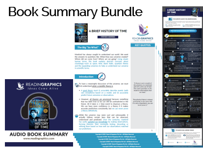 A Brief History of Time summary_Book Summary Bundle