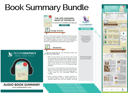 The Life-Changing Magic of Tidying Up summary_Book summary bundle